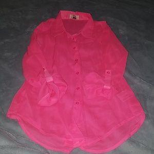 Hot Pink Dress Shirt